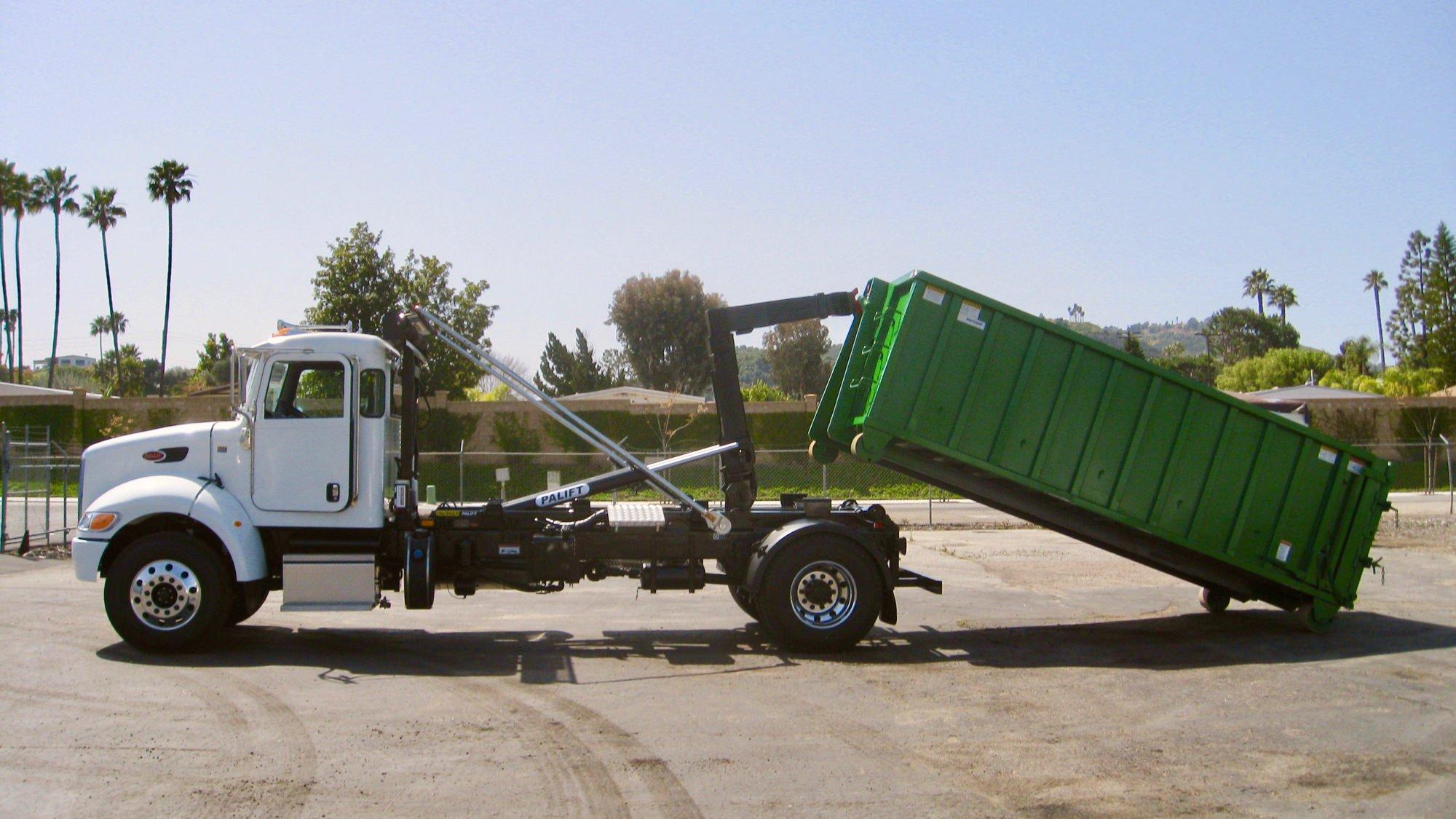SwapLoader, Stellar, and Palfinger hooklift trucks