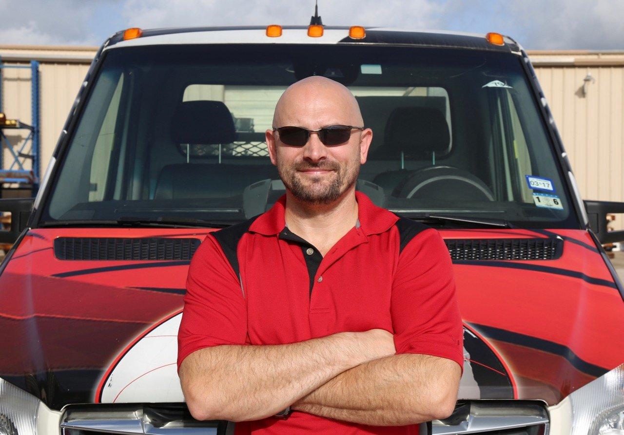 Anthony Hiller, CraneWorks Houston Service Manager