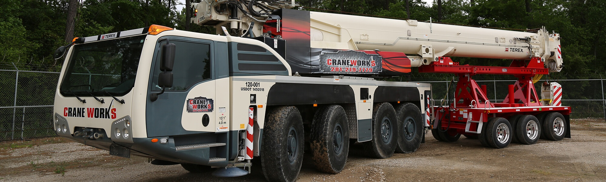 Demag AC 100-4L large all terrain crane