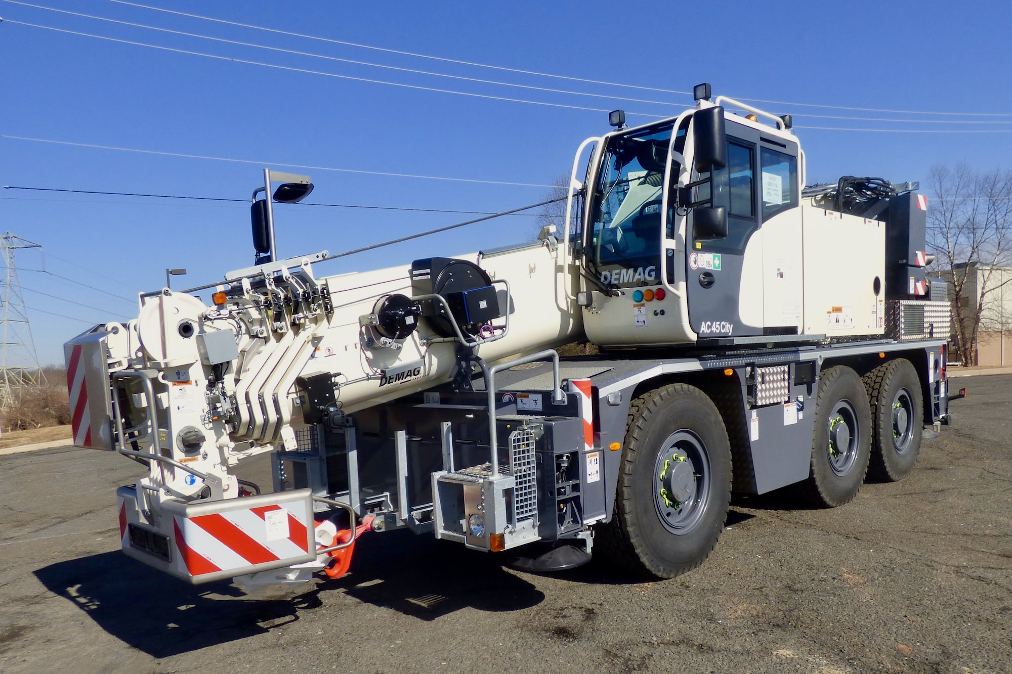 Demag AC 45 City crane
