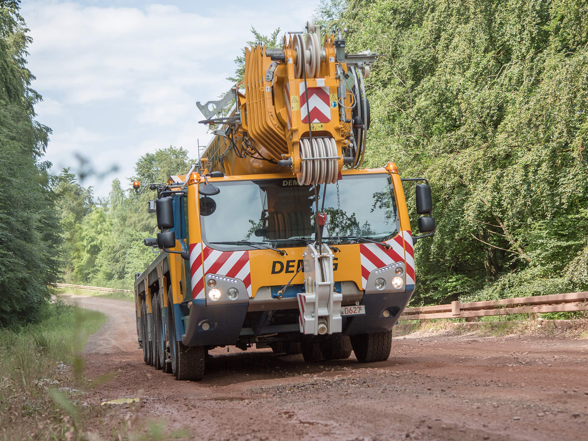 Demag all terrain crane for sale