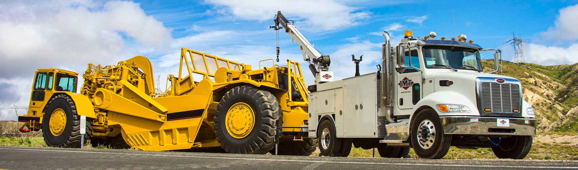 IMT service trucks for sale with crane