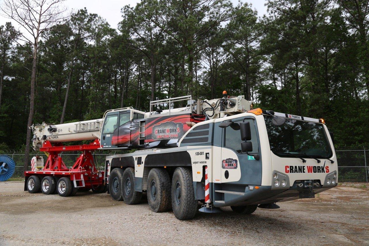 Demag AC 100-4L from CraneWorks Rentals