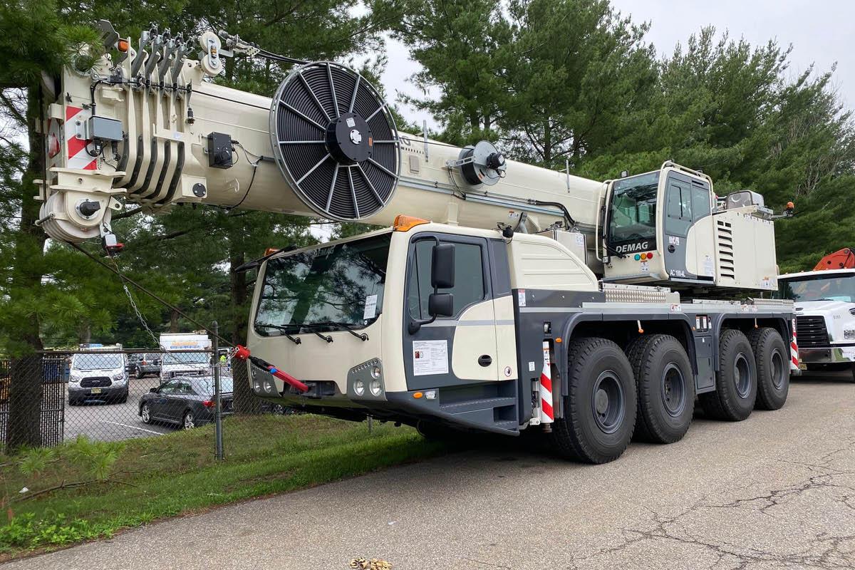 New Demag AC 100-4L 120-ton all terrain crane for sale #BM-3736