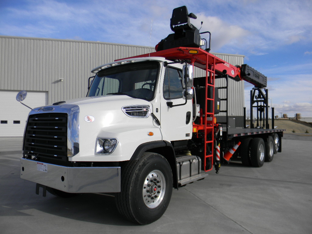 New Fassi F330SE.24 drywall boom truck for sale on Freightliner 114SD chassis #BM-1989