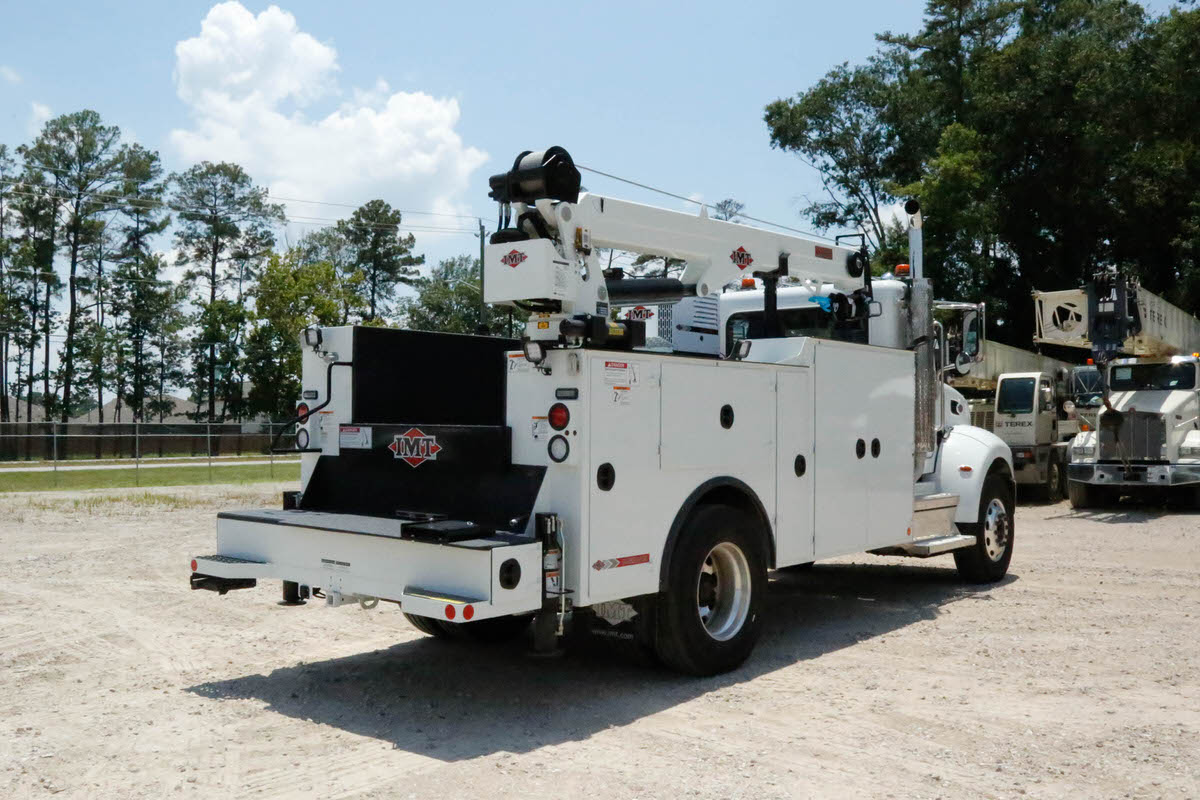 IMT 12000 with Dominator III service body 6