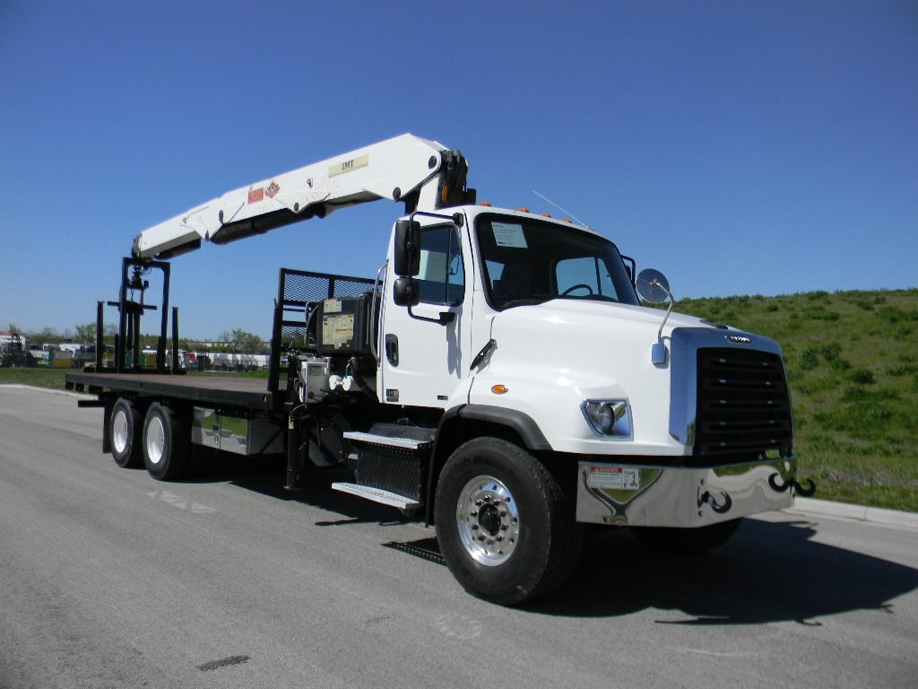 Used 2015 IMT 28562 drywall loader on Freightliner 114SD chassis #UT-773A