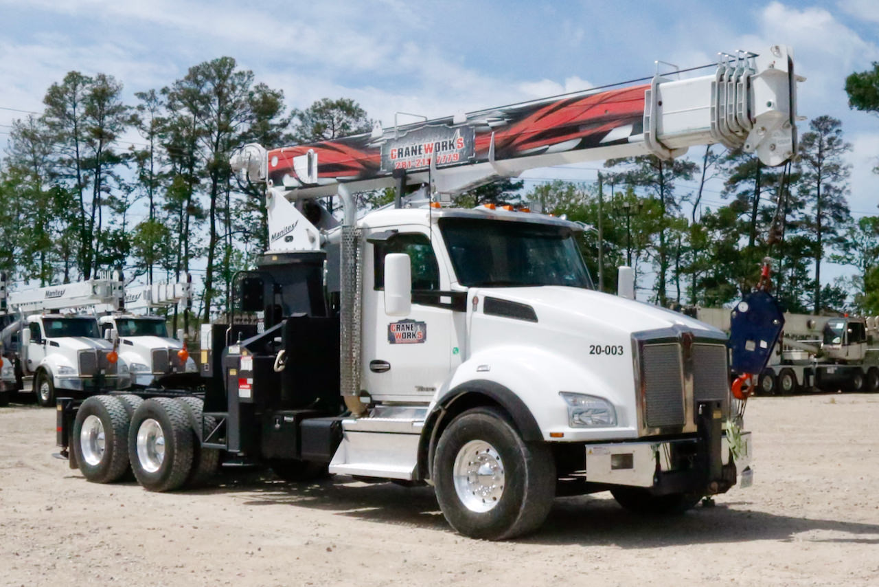 Used Manitex 2085T on 2019 Kenworth T880 tractor for sale or rent #20-003TM