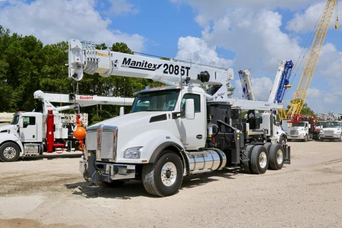 New Manitex 2085T tractor mount boom truck: Unit BM-2949