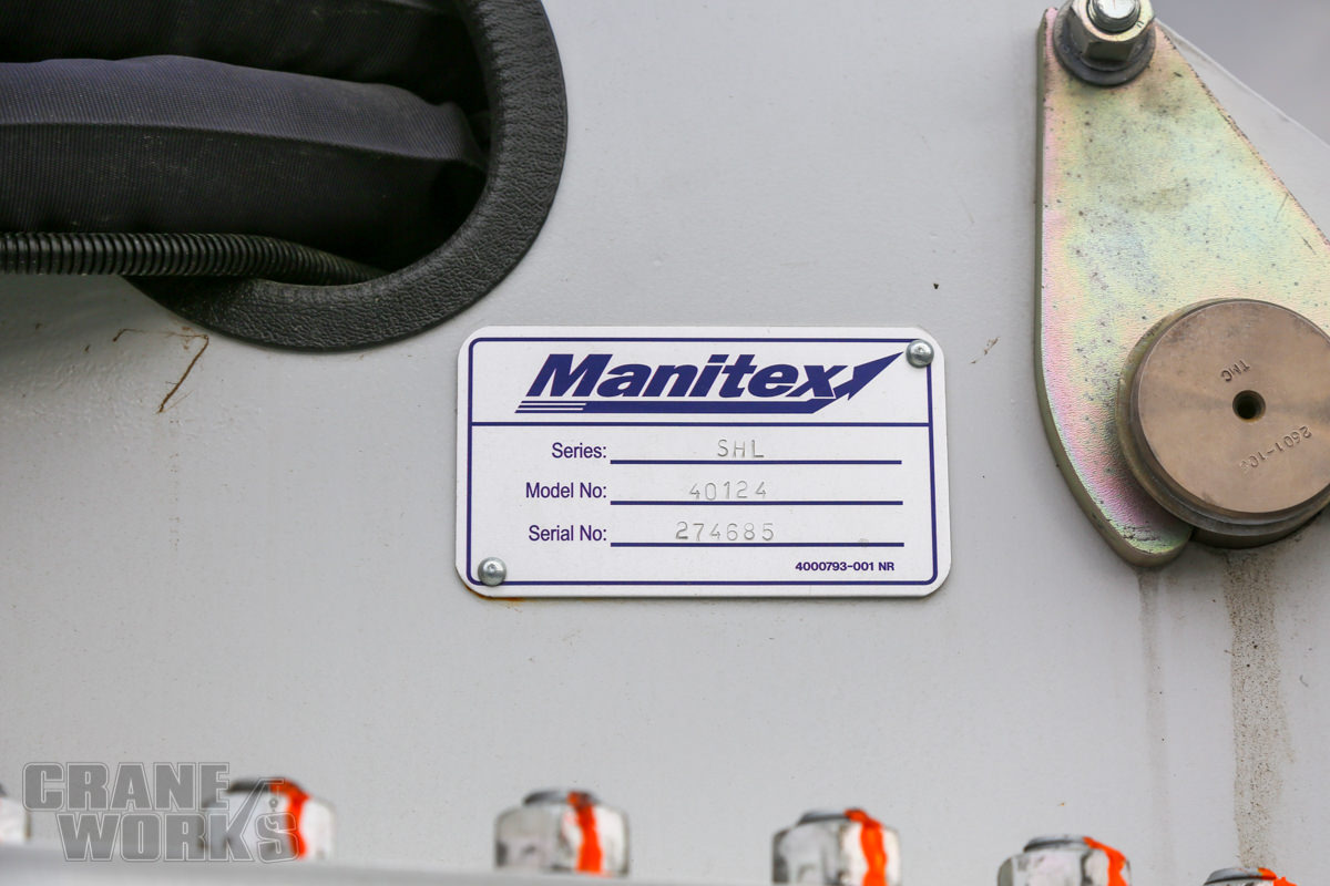 Manitex 40124SHL-274685-20