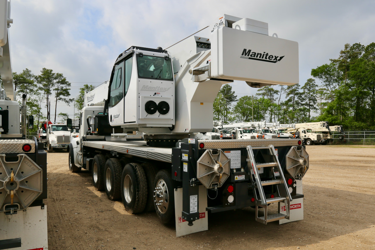 New Manitex TC50155HL 50-ton boom truck for sale on Kenworth T880 chassis #BM-3353