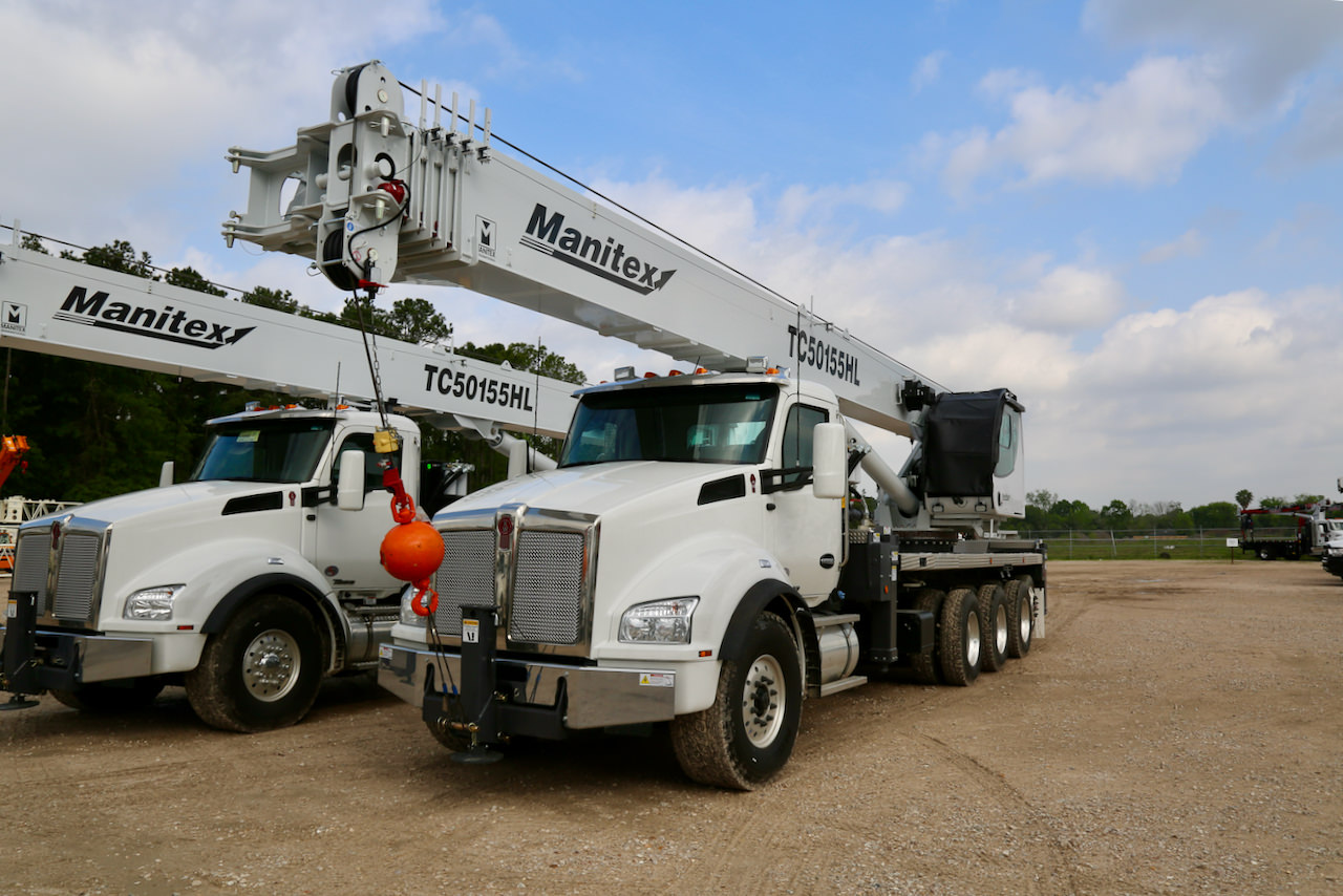 New Manitex TC50155HL 50-ton boom truck for sale on Kenworth T880 chassis #BM-3357