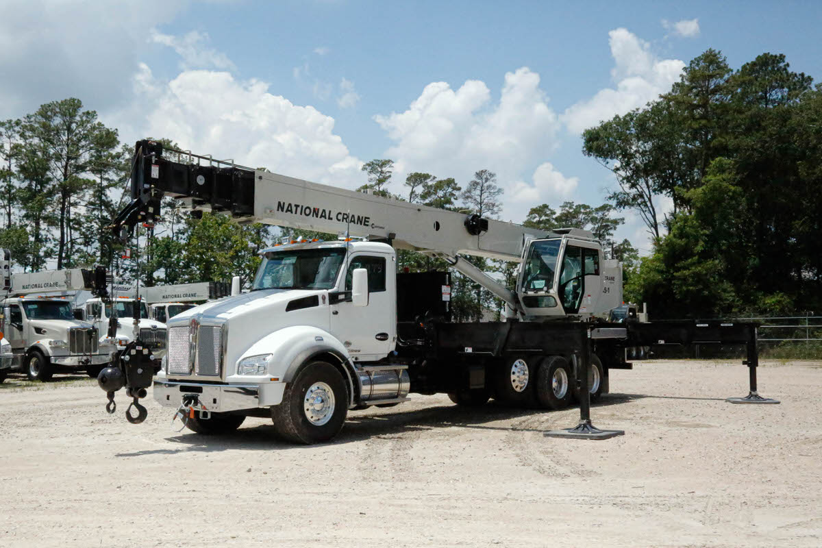 National NBT45 45-ton boom truck for sale on Kenworth T880 chassis #BM-3626