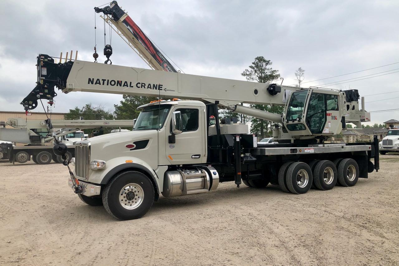 National NBT55L 55-ton boom truck for sale on Peterbilt 567 chassis #BM-3629