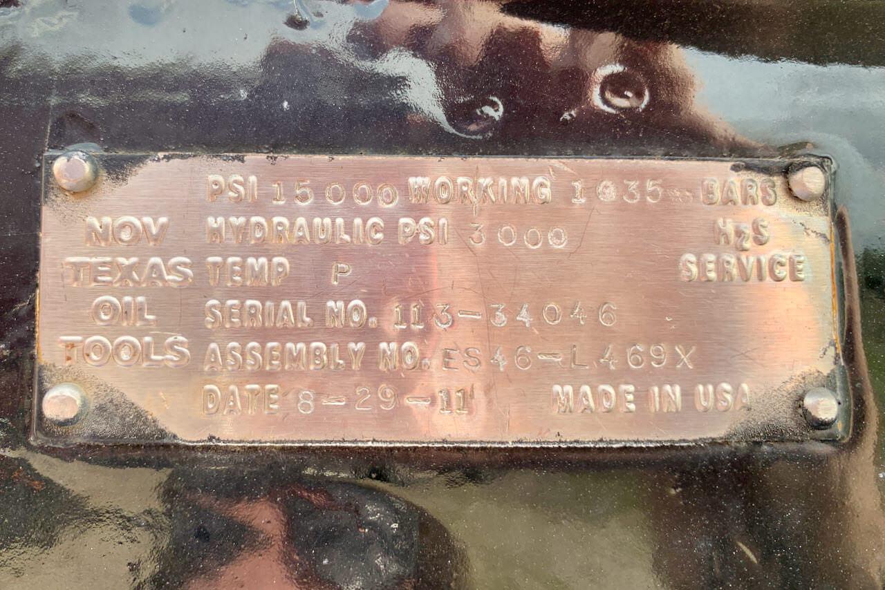NOV 4 1-16-inch 15K Quad BOP package 7