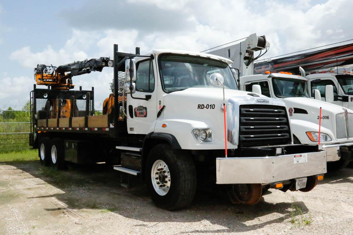 Used 2018 Rotobec Elite hi-rail grapple truckfor sale or renton Freightliner #RD-010