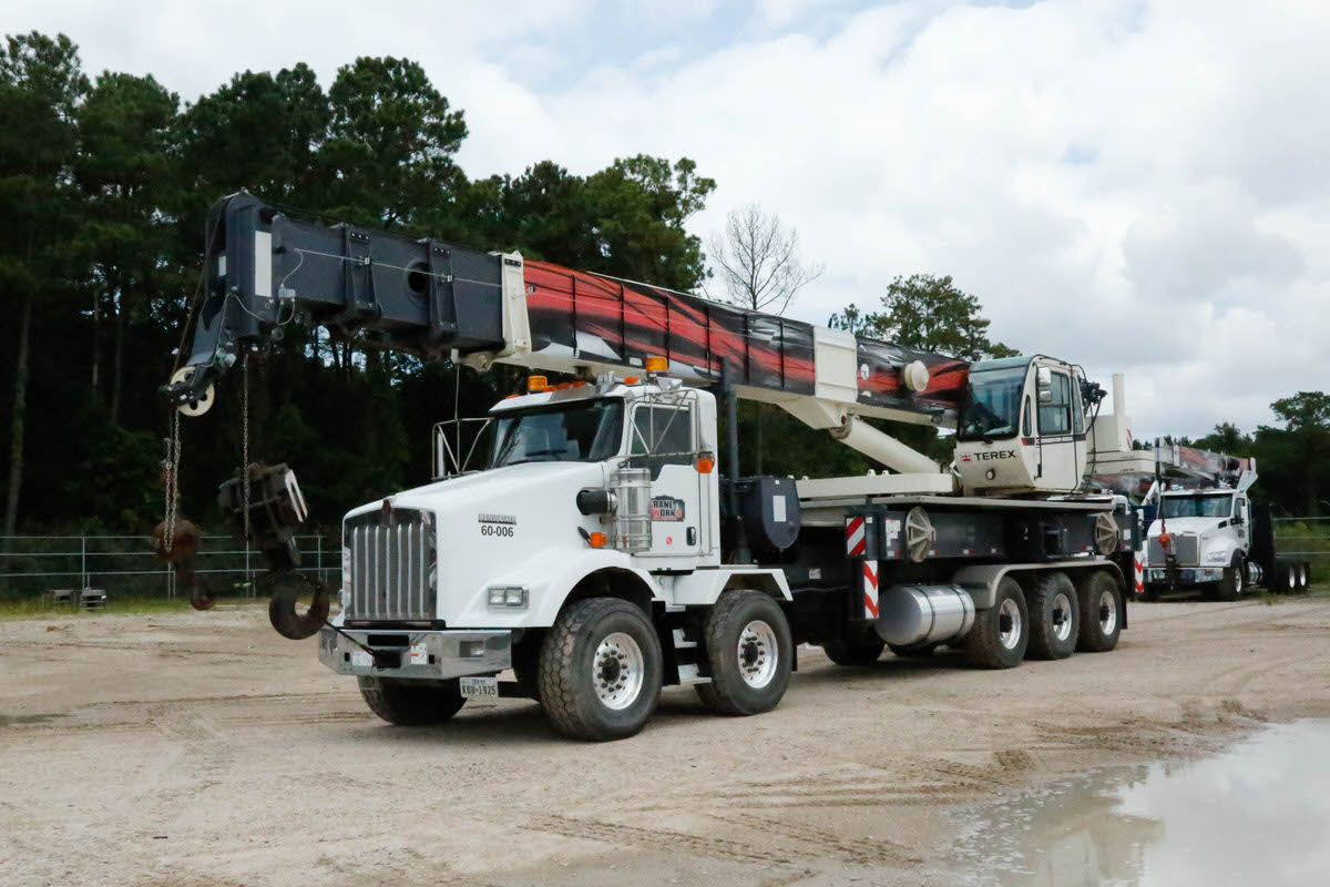 Used 2018 Terex Crossover 6000 60-ton boom truck for sale or rent #60-006