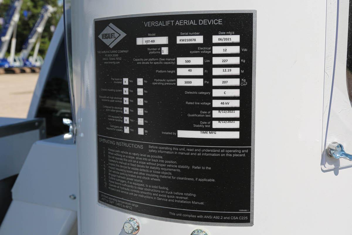 Versalift VST-40-MHI 26